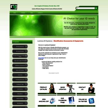 laminex-id com at WI  Home - Laminex-ID Systems Singapore
