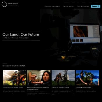 Landcareresearch.co.nz thumbnail