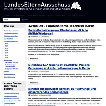 Landeselternausschuss.de thumbnail