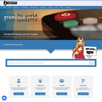 landiptv com at WI  iptv,restream,best iptv,latino iptv,latino