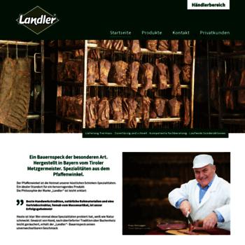 Landler-schinken.de thumbnail
