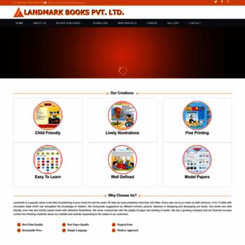 Landmarkbooks.co.in thumbnail