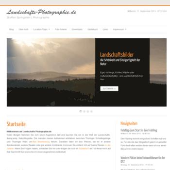 Landschafts-photographie.de thumbnail