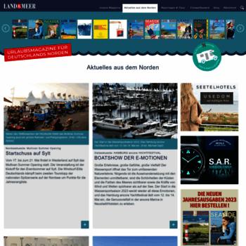 Landundmeer.de thumbnail