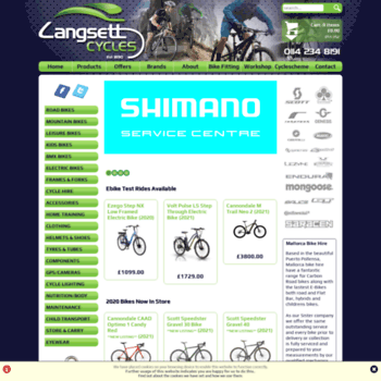 Langsettcycles.co.uk thumbnail