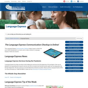 Language-express.ca thumbnail