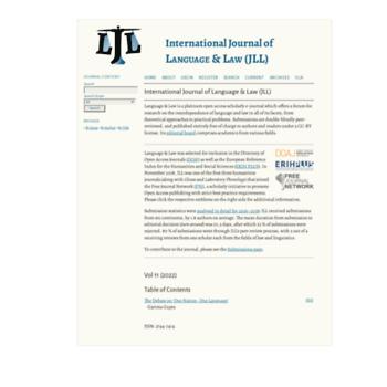 Languageandlaw.de thumbnail