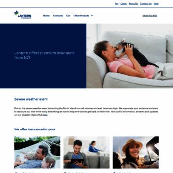 Lanterninsurance.co.nz thumbnail