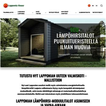 Lapponiahouse.fi thumbnail