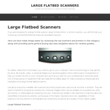 Largeflatbedscanners.net thumbnail