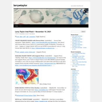 Larrywtaylor.org thumbnail