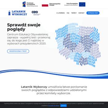 Latarnikwyborczy.pl thumbnail