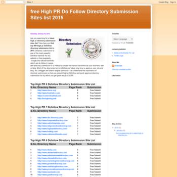 Latestdirectorysubmissionlist.blogspot.in thumbnail