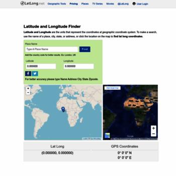 latlong net at WI  Latitude and Longitude Finder on Map Get