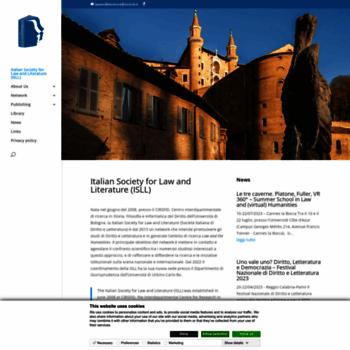 Lawandliterature.org thumbnail