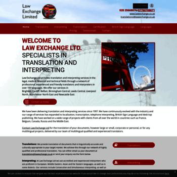 Lawexchange.co.uk thumbnail