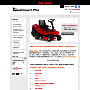 Lawnmowers-plus.com thumbnail