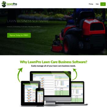 lawnprosoftwarecom thumbnail