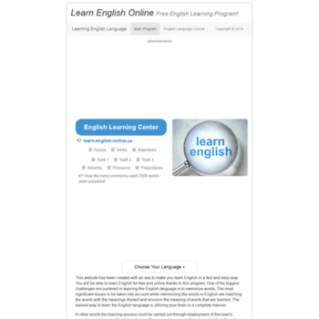 learn-english-online us at WI  Learn English Online | Spoken