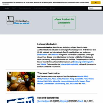 Lebensmittellexikon.de thumbnail