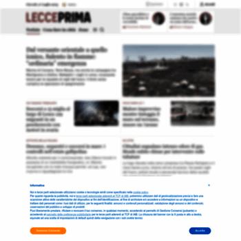 Lecceprima.it thumbnail