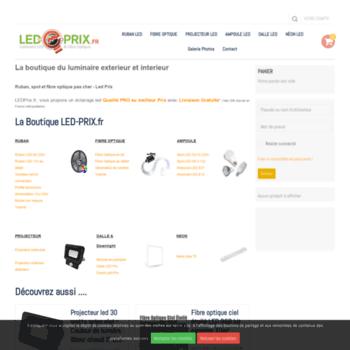 Led-prix.fr thumbnail