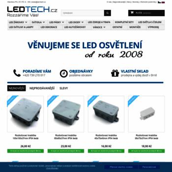 Led-tech.cz thumbnail