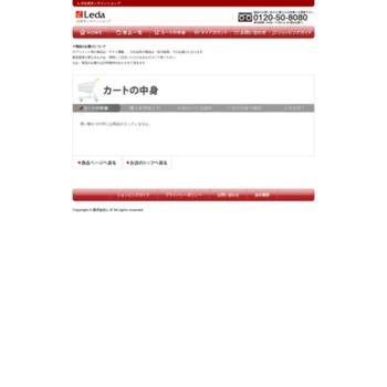 Leda-shop.jp thumbnail