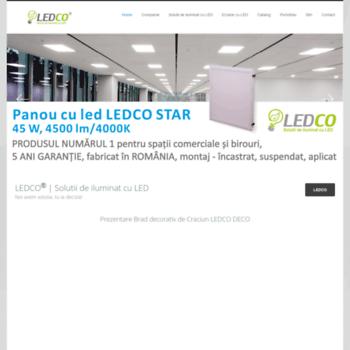 Ledco.ro thumbnail