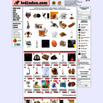 Ledindon Com ledindon at wi. idées de cadeaux originaux, objets insolites