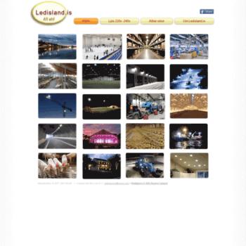 Ledisland.is thumbnail