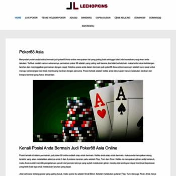 Leehopkins.net thumbnail