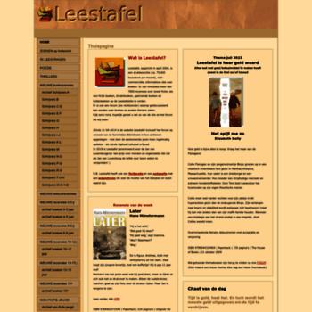 Leestafel.info thumbnail