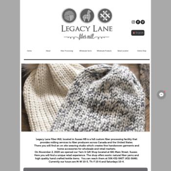 Legacylanefibermill.ca thumbnail