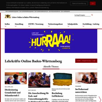 Lehrer-online-bw.de thumbnail
