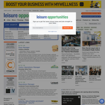 Leisureopportunities.co.uk thumbnail