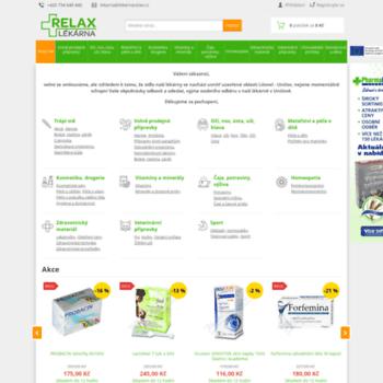 Lekarnarelax.cz thumbnail