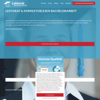 Lektorat-bachelorarbeit.de thumbnail