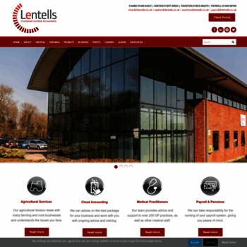 Lentells.co.uk thumbnail