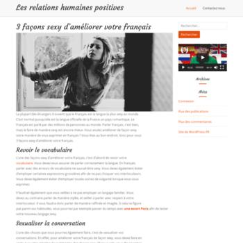 Lesrelationshumainespositives.fr thumbnail