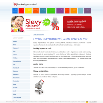 Letaky-hypermarketu.cz thumbnail