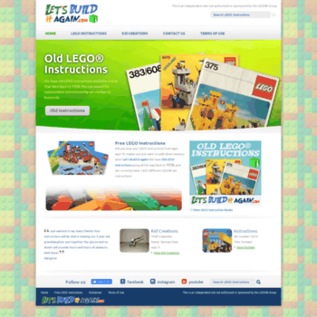 Letsbuilditagain At Wi Free Lego Instructions Thousands Of