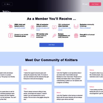 Letsknit.co.uk thumbnail