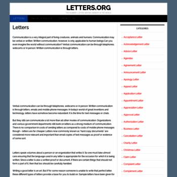 Letters.org thumbnail