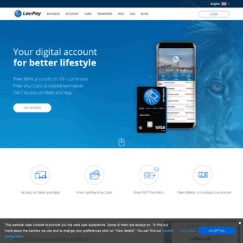 Leupay Eu At Wi Leopay Your Digital Account For Better
