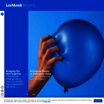 lexmundi com at WI  The World's Leading Network of