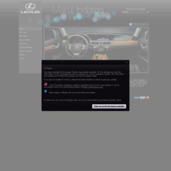 Lexus-mapupdates.eu thumbnail