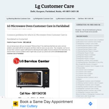 Lgcustomercare.in thumbnail