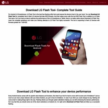 lgflashtool com at WI  Download LG Flash tool