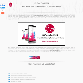 lgflashtool org at WI  LG Flash tool 2014 - Download 2014 lg